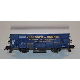 """Brawa Brawa 48222 Gedeckter Güterwagen """"Roesgen Nennig"""" CFL DC Epoche III (Spur HO)"""
