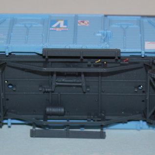 "LS Models 95 009-1 Gedeckter Güterwagen ""Air Liquide"" CFL DC Epoche IV (Spur HO)"