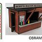 Brikho Brikho OBRAMKI01 Small foodstand/Kiosk (Gauge 0, lasercut)