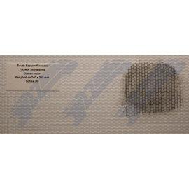 South Eastern Finecast FBS406 Zelfbouwplaat Stenen muur, Schaal H0/OO, Plastic