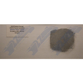 South Eastern Finecast FBS703 Builder Sheet Flemish bond brick , O gauge, plastic