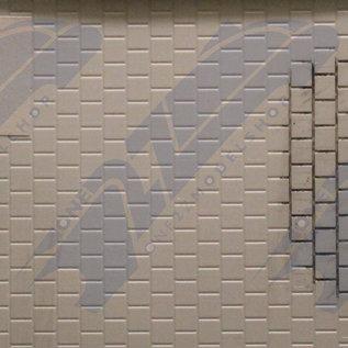 South Eastern Finecast FBS706 Zelfbouwplaat Stenen muur, Schaal O, Plastic