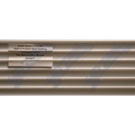 South Eastern Finecast FBS713 Zelfbouwplaat damwand metaal, Schaal O, Plastic