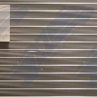 South Eastern Finecast FBS412 Selbstbauplatte Spundwände durchsichtig. Maßstab H0/OO aus Kunststoff