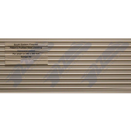 South Eastern Finecast FBS413 Builder Sheet Profile steel cladding, H0/OO gauge, plastic