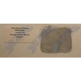 South Eastern Finecast FBS215 Builder Sheet Slate, N gauge, plastic