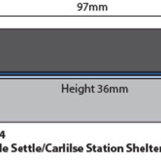 Metcalfe Metcalfe PN934 Settle/Carlisle Platform shelter (Gauge N)