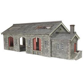 Metcalfe Metcalfe PO336 Güterhalle Settle/Carlisle (Spur H0/00)