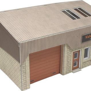 Metcalfe Metcalfe PO285 Industriegebouw (Schaal H0/00, Karton)