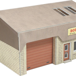 Metcalfe Metcalfe PO285 Industriegebäude (Spur H0/00)