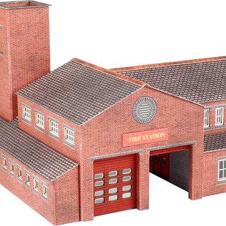 Metcalfe Metcalfe PN189 Brandweerkazerne (Schaal N, Karton)