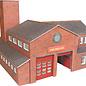 Metcalfe Metcalfe PO289 Brandweerkazerne (Schaal H0/00, Karton)