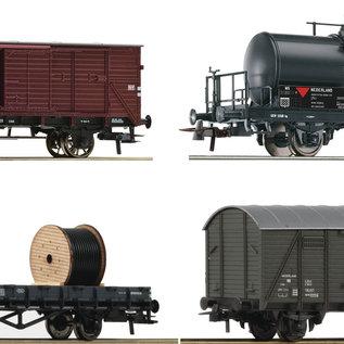 Roco Roco 76134 NS 4-tlg. Set: Güterwagen DC era III (Gauge H0)