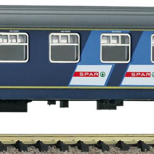 Fleischmann Fleischmann 814711 NS Reisezugwagen 2. Klasse, Bauart Plan W DC periode IV (schaal N)