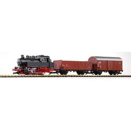 Piko Piko 37120 DB Start-Set Güterzug BR 80 (inkl. Sound+Dampf) Epoche III (Spur G)