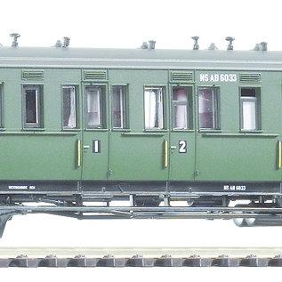 Piko Piko 53316 NS Abteilwagen AB 6033 mit Bremserhaus DC periode III (schaal H0)