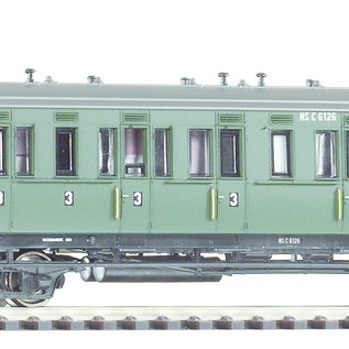 Piko Piko 53317 NS Abteilwagen C 6126 3. Klasse ohne Bremserhaus DC periode III (schaal H0)