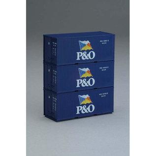 Piko Piko 56200 3er Set 20 Container P&O (Spur H0)