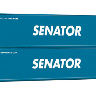 Piko Piko 56240 2er Set 40 Container Senator (schaal H0)