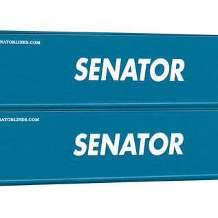 Piko Piko 56240 2er Set 40 Container Senator (Spur H0)