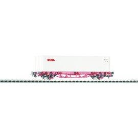 Piko Piko 58754 NS Containertragwagen Lgs579 DC periode VI (schaal H0)