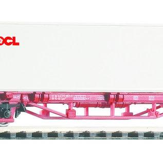 Piko Piko 58754 NS Containertragwagen Lgs579 DC Epoche VI (Spur H0)