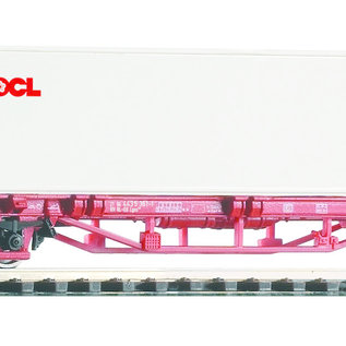 Piko Piko 58754 NS Containertragwagen Lgs579 DC era VI (Gauge H0)