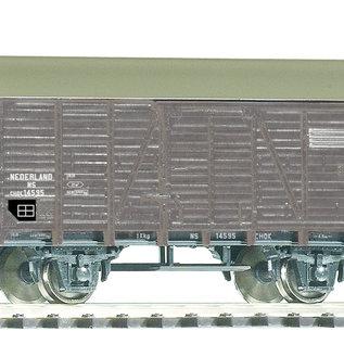 Piko Piko 58936 NS Gedeckter Güterwagen CHOK DC periode III (schaal H0)