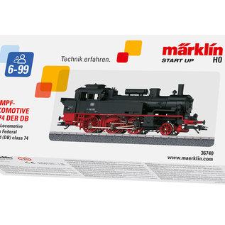 Märklin Märklin 36740 DB Märklin Start up - Tenderlokomotive Baureihe 74 AC Epoche III (Spur HO)