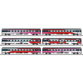 Märklin Märklin 42648 NS ICRm IC Express Train Passenger Car Set. AC era VI (gauge HO)
