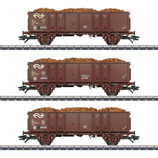 Märklin Märklin 46019 High Side Gondola Set AC era IV (gauge HO)