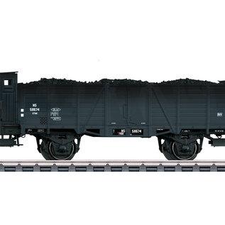 Märklin Märklin 46053 Offener Hochbordwagen Om 21 mit Bremserhaus AC Epoche III (Spur HO)