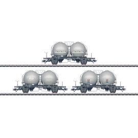 Märklin Märklin 46626 Three Type Uces Spherical Container Cars AC era IV (gauge HO)