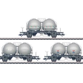 Märklin Märklin 46626 Drie kogelcontainerwagens Uces AC tijdperk IV (schaal HO)
