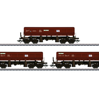 Märklin Märklin 48456 Type Fas 680 Bulk Freight Dump Car Set AC era VI (gauge HO)
