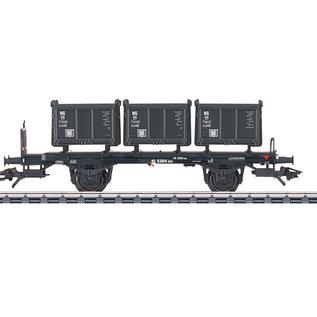 Märklin Märklin 48949 Containerwagen Bt 10 AC tijdperk III (schaal HO)