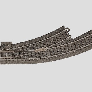 Märklin Märklin 24671 C-Gauge Left Curved Turnout (gauge HO)