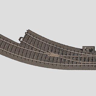 Märklin Märklin 24672 C-Gauge Right Curved Turnout (gauge HO)