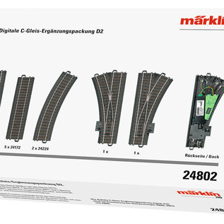 Märklin Märklin 24802 Digital C Track D2 Extension Set (gauge HO)