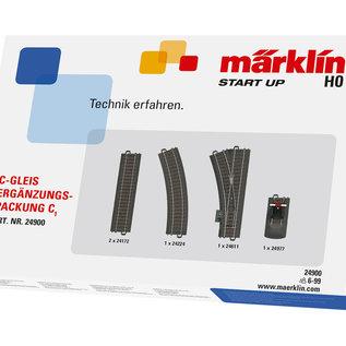 Märklin Märklin 24900 C-rail uitbreidingsset C1(schaal HO)