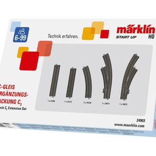 Märklin Märklin 24903 C-rail uitbreidingsset C3 (schaal HO)