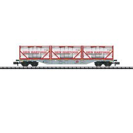 Trix Trix 15537 Containertragwagen DC era VI (gauge N)