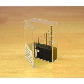 Expo Tools 11509 Borenset 8 stuks 0.3-1mm