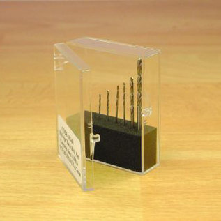 Expo Tools Expo 11509 Borenset 8 stuks 0.3-1mm