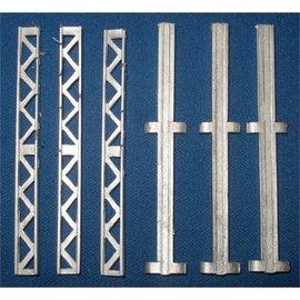 Skytrex Skytrex 7/302 Stützstreben und Stehröhre 3m (Spur O)