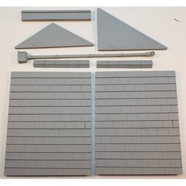 Skytrex Skytrex SMRS47 Shallow relief roof kit multiple (Gauge O)