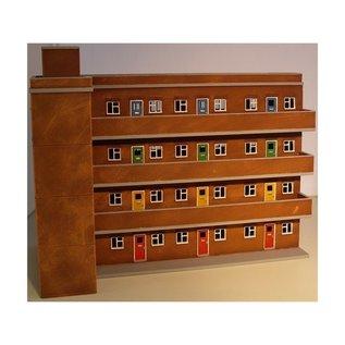 Skytrex Skytrex 4/040 4 Storey flats (Gauge H0/00)