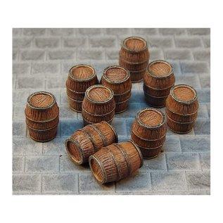 Skytrex Skytrex 4A/008 Medium wooden barrels (Gauge H0/00)