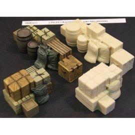 Skytrex Skytrex SMRA14 Piles crates, barrels, sacks (Gauge O)
