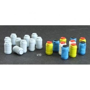 Skytrex Skytrex SMRA38 Large chemical containers (Gauge O)